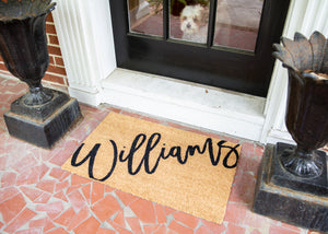 Williams Doormat
