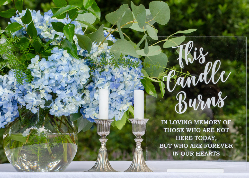 Wedding / Event | In Memory Sign