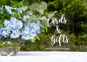 Wedding / Event | Cards & Gifts Sign