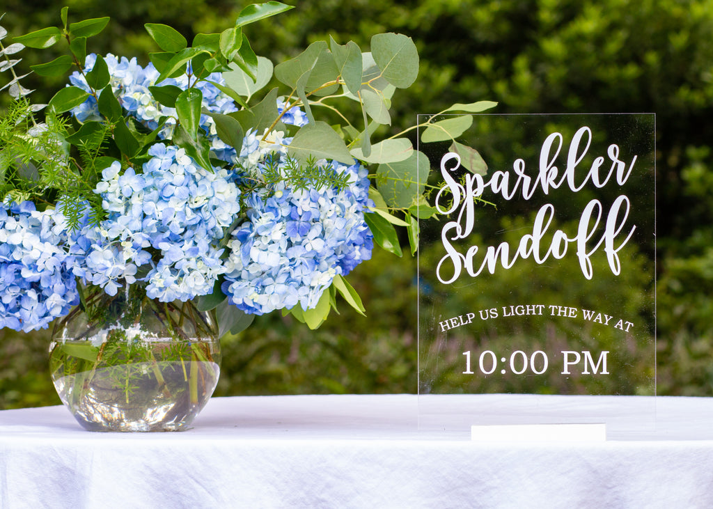 Wedding / Event | Sparkler Sendoff Sign