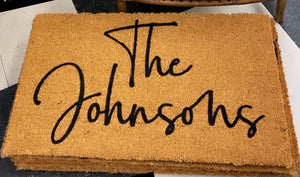 JOHNSON DOORMAT