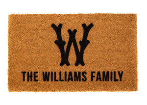THE WILLIAMS FAMILY DOORMAT