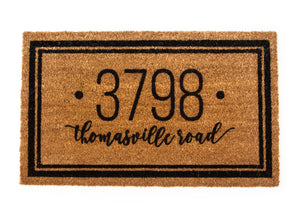 HOME ADDRESS DOORMAT