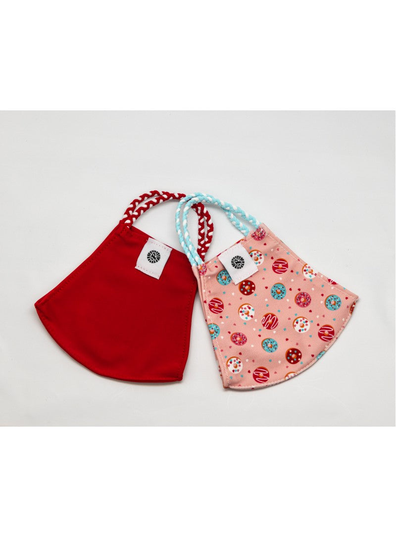 BATHING SUIT MASK | Red + Donuts