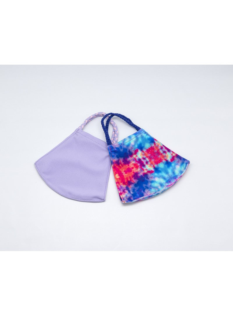 BATHING SUIT MASK | Lavender + Purple Tie Dye