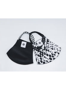 BATHING SUIT MASK | Black + Snake