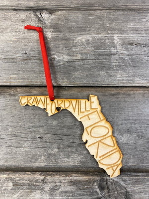 Hometown Ornament | Crawfordville