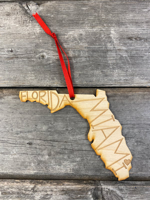 Hometown Ornament | Miami