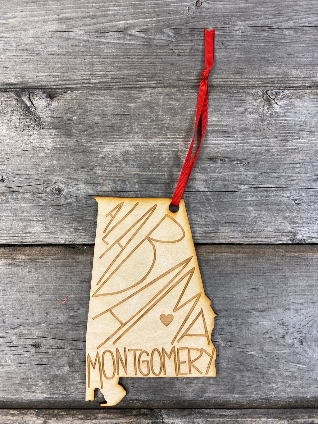 Hometown Ornament | Montgomery