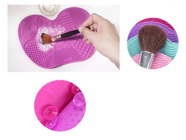 Cosmetic Brush Cleaning Pads