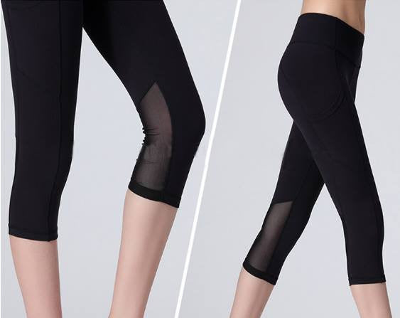 BLACK ACTIVE WEAR With a SIDE POCKET