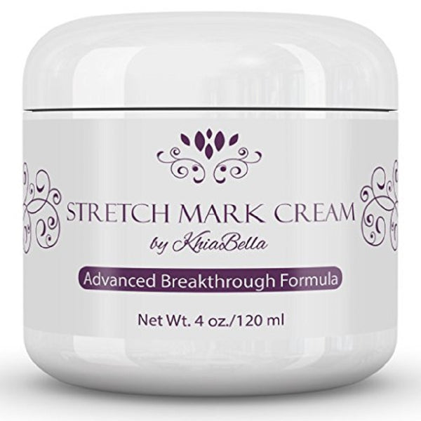 KhiaBella Best Stretch Mark & Scar Cream For Old and New Stretch Marks.