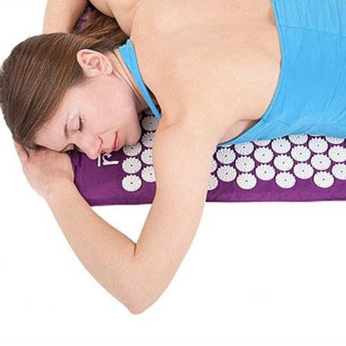 ACUPUNCTURE MAT - #1 NATURAL BACK AND NECK PAIN REMEDY
