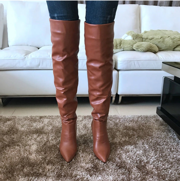 2019 High Heels Thigh high Boots