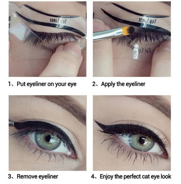 INCREDIBLE EYELINER STENCILS  (Set of 10)