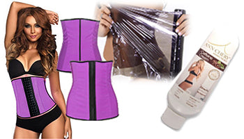 Latex Waist Trainer Slim Bundle