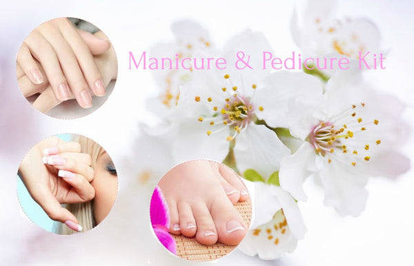 Electric Manicure And Pedicure Set