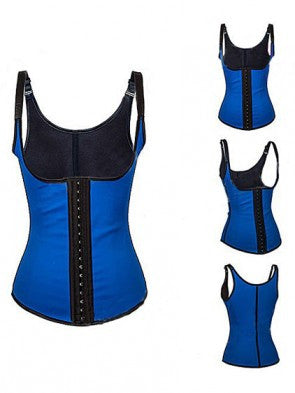 Latex Vest Waist Cincher