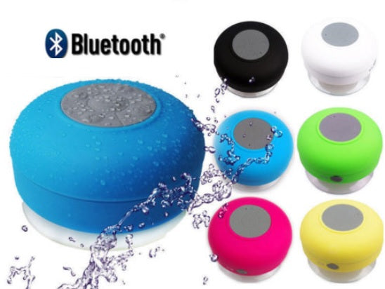 Hands Free Waterproof Bluetooth Shower Speaker