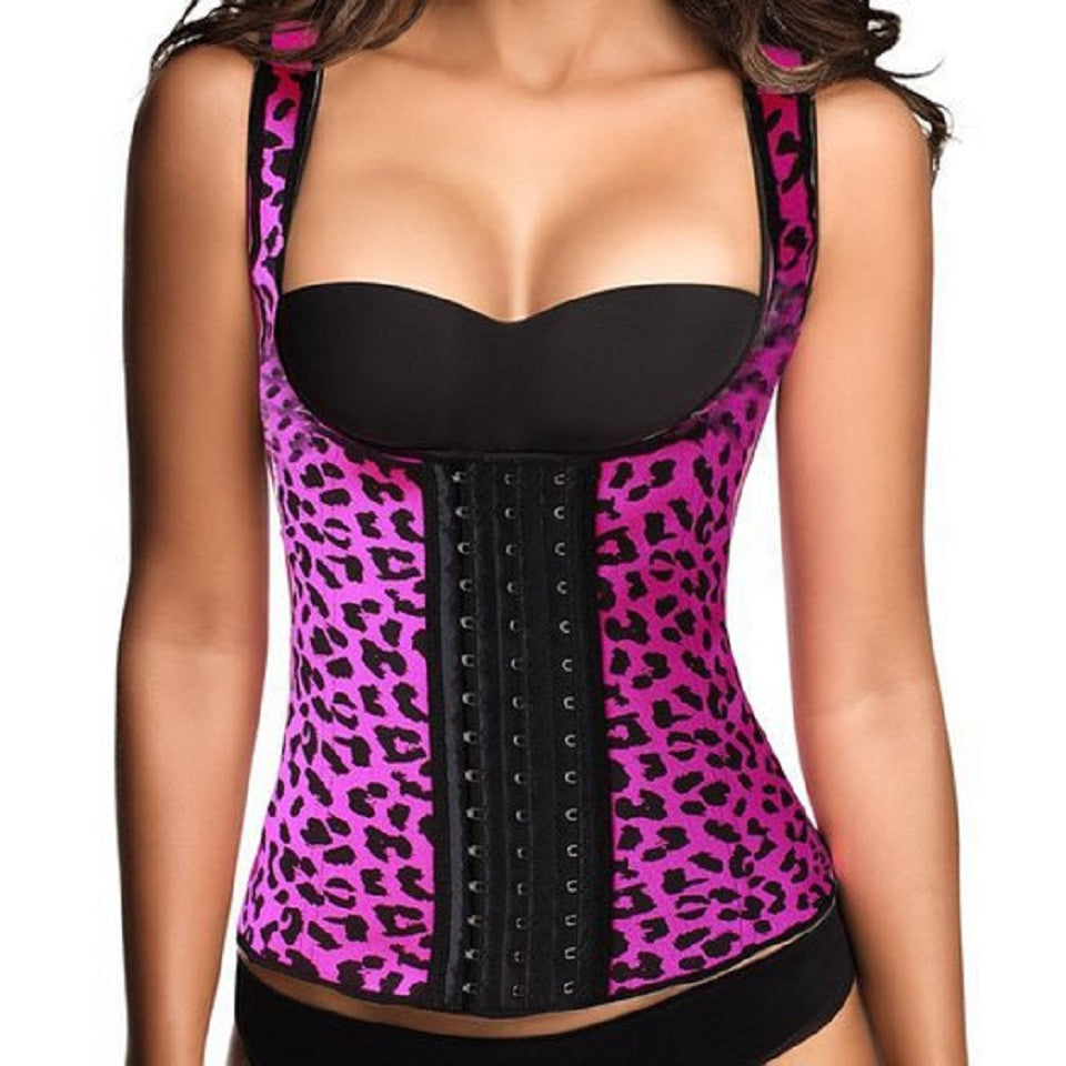"Leopard Waist Trainer Vest "" Limited Edition """