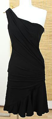 Edition Georges Chakra Black Over The Top Strapless Dress Sz 4 BNWT $2400 - Evesherfashion