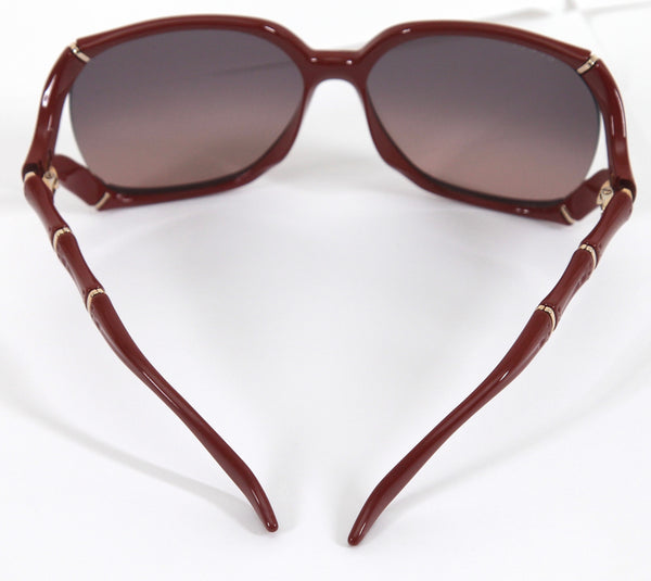GUCCI Sunglasses Red Brick Gradient Lens Oversized GG0505S - Evesherfashion