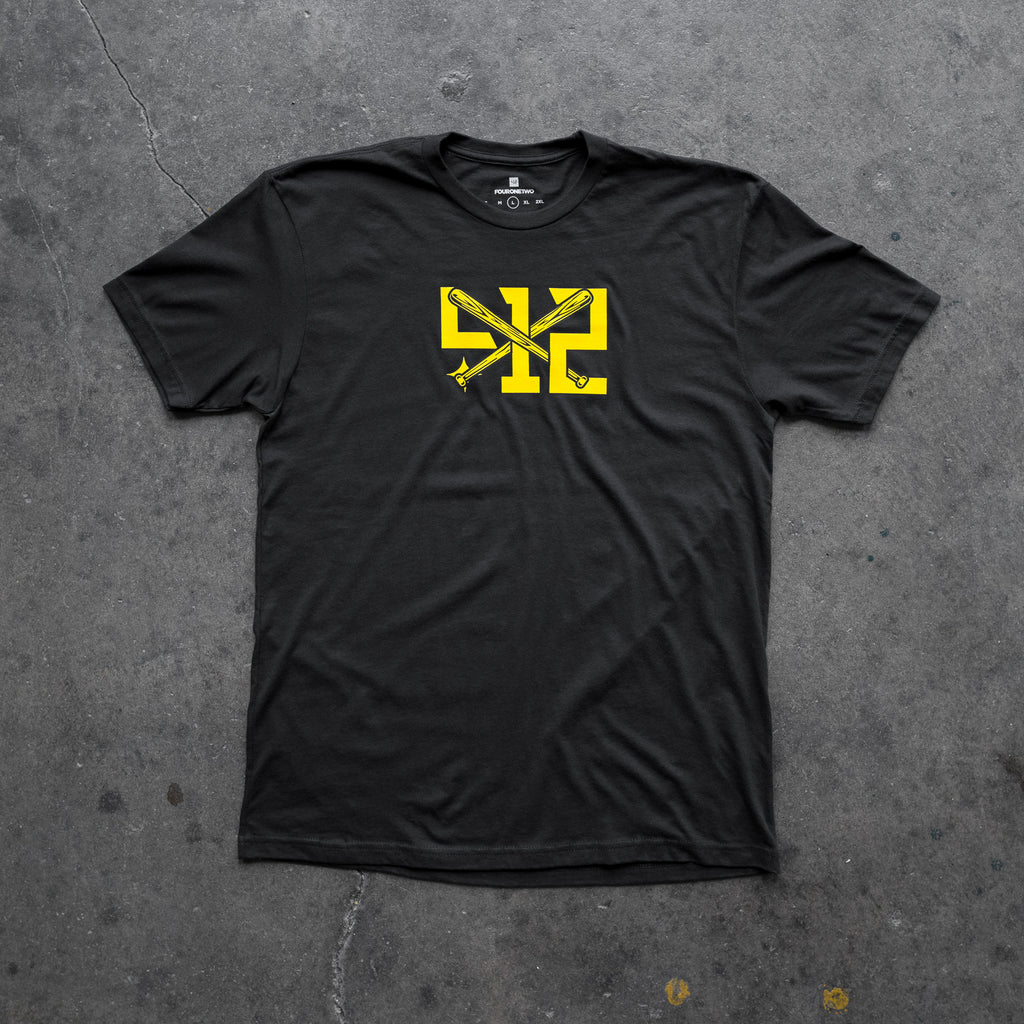 412® Clubhouse Tee - Black