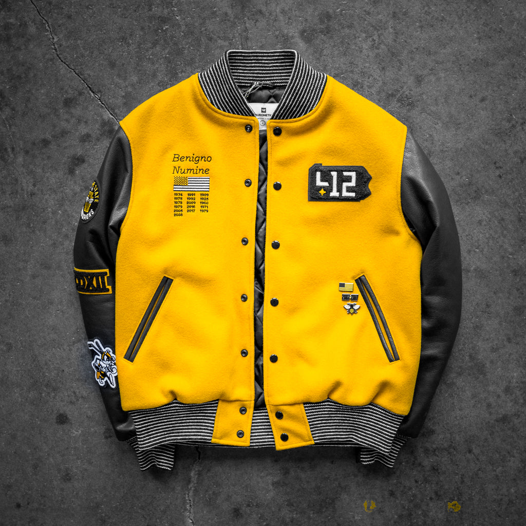 412® Pittsburgh Varsity Jacket