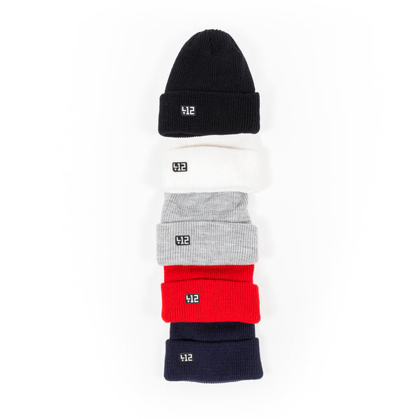 412® Ribbed Knit Beanies