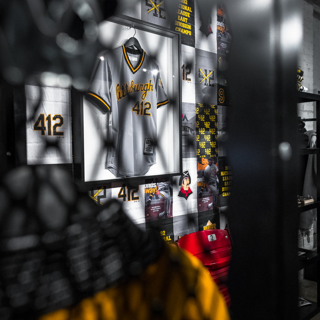 "412® x Pittsburgh Pirates® ""Pittsburgh Script"" Jersey"