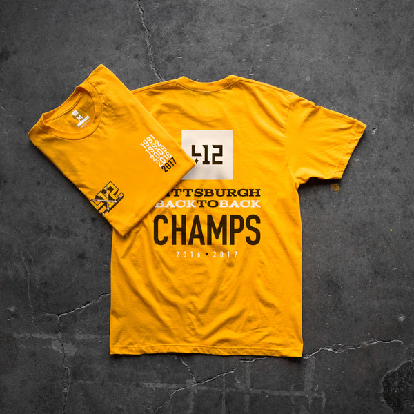 412™ Back To Back Tee - Gold