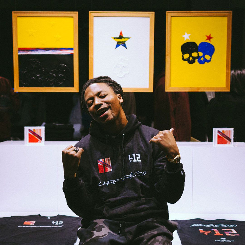 412® x Lupe Fiasco: March/2015