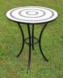 Mosaic Ring Bistro Table