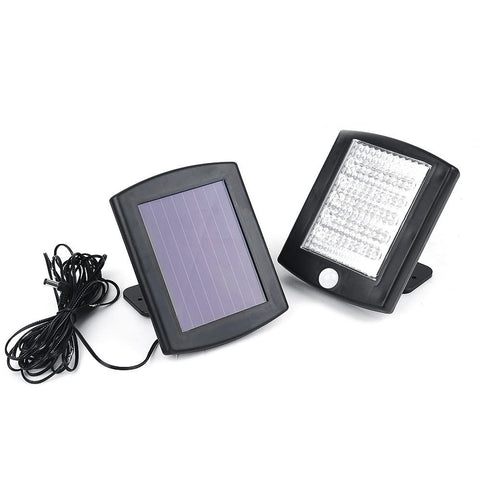 36 LED Outdoor Solar Security Flood Light w/ Motion Detector
