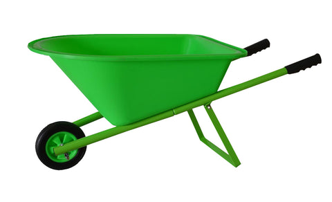 Children's Wheelbarrow -  Green, Kid's Garden Tool