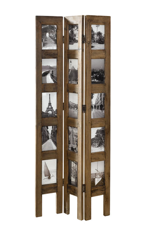 46 in Tall Standing Panel - Photo-decorated (4x6) Privacy Screen & Room Divider