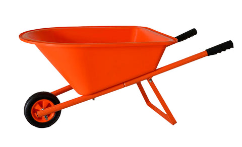 Children's Wheelbarrow - Orange, Kid's Garden Tool