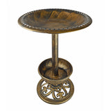 Birdbath with Planter - Poly Birdbath for Yard or Garden