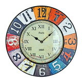 20 in Antique Replica Wall Clock - Battery Operated