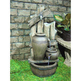 Water Fountains Outdoor Cascading Vase Garden Water Fountain Product SKU: PL50076
