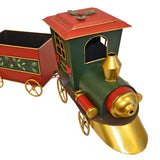 35 in. Christmas Freight Train Set