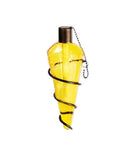 Replacement Tiki Torch Glass Globe ONLY - Yellow