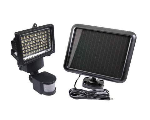 60 LED Outdoor Solar Security Flood Light w/ Motion Detector