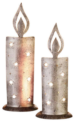 "Wind Light ""Candlelight"" Candle Holder, Set of Two"