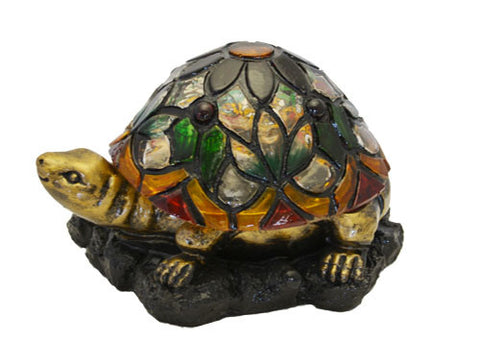 Solar Lighted Turtle Accent Light -- Landscape Ornament