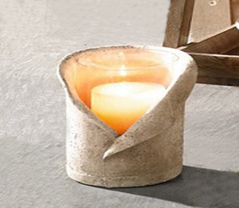 "Wind Light ""Stone Chalice"" Candle Holder, Small"