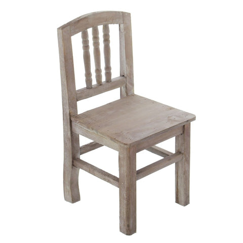 Decorative Antique Kid Chair for Indoor or Patio