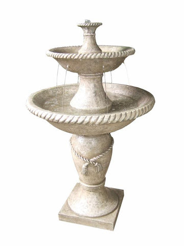 Two-tier Garden Water Fountain