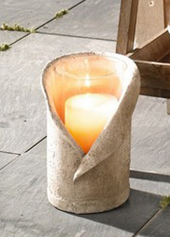 "Wind Light ""Stone Chalice"" Candle Holder, Large"