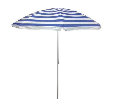 6.5 ft Outdoor Beach Umbrella - Beach Stripe